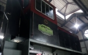 Maintenance Tierra del Fuego locomotive