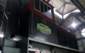 Reparação locomotiva Tierra del Fuego