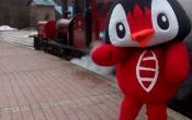 Chegou Usupin no Trem do Fim do Mundo