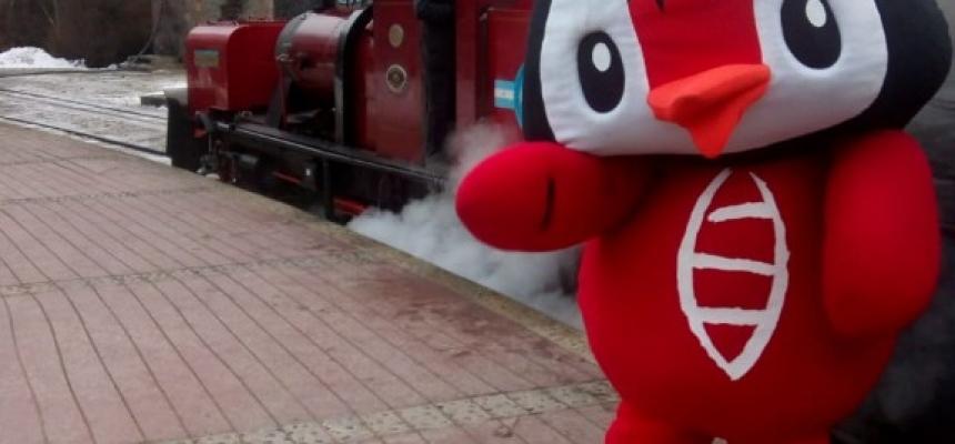 Llegó Usupin al Tren del Fin del Mundo