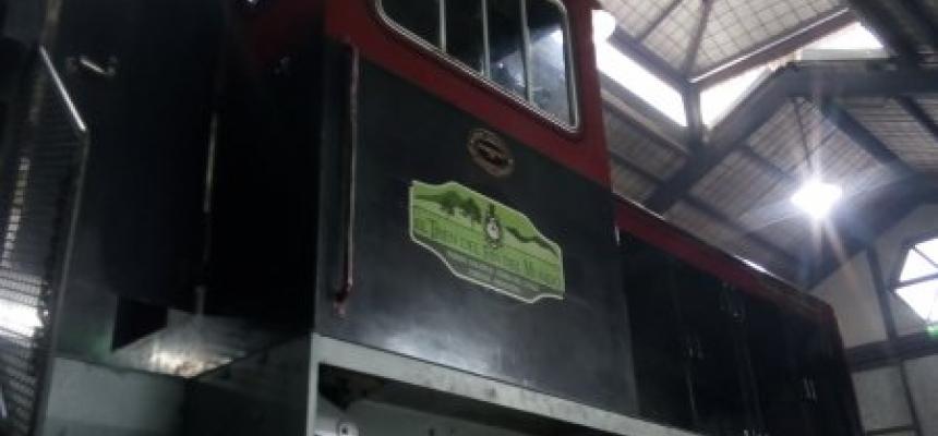 Mantenimiento Locomotora Tierra del Fuego
