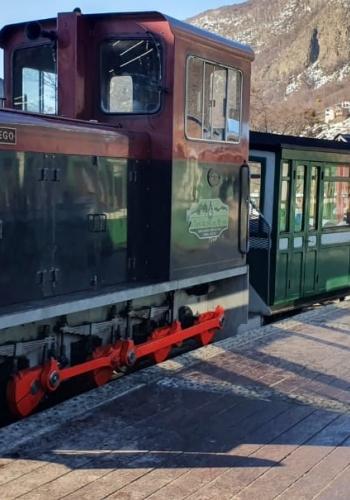 Locomotiva Tierra del Fuego