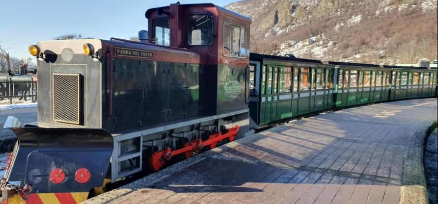 Locomotora Tierra del Fuego